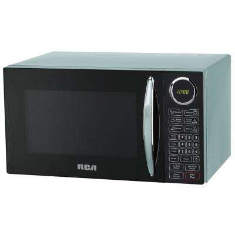 0.9 cu. ft. Countertop Microwave in Blue