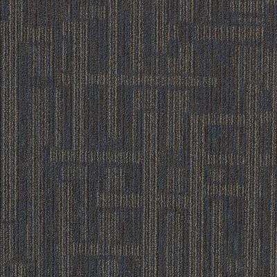 Planner Blue Loop 24 in. x 24 in. Modular Carpet Tile Kit (18 Tiles/Case)