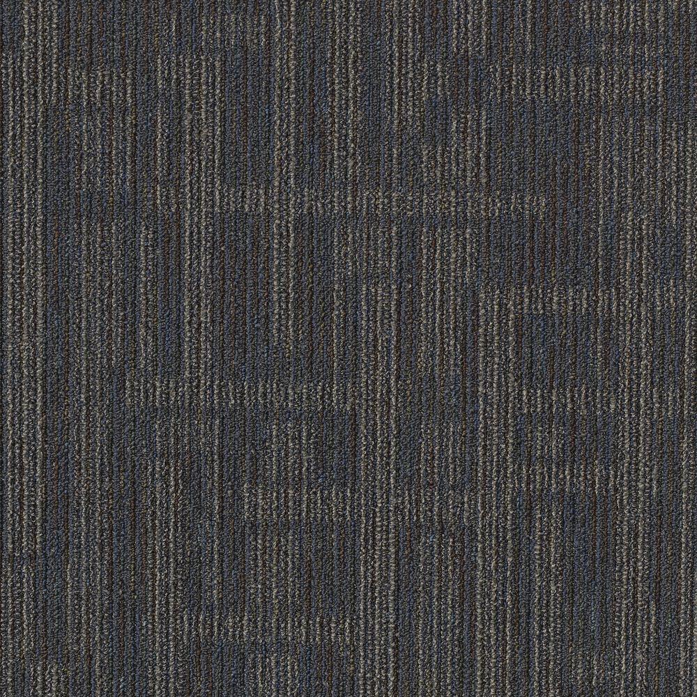 Planner Blue Loop 24 in. x 24 in. Modular Carpet Tile Kit (18 Tiles/Case)