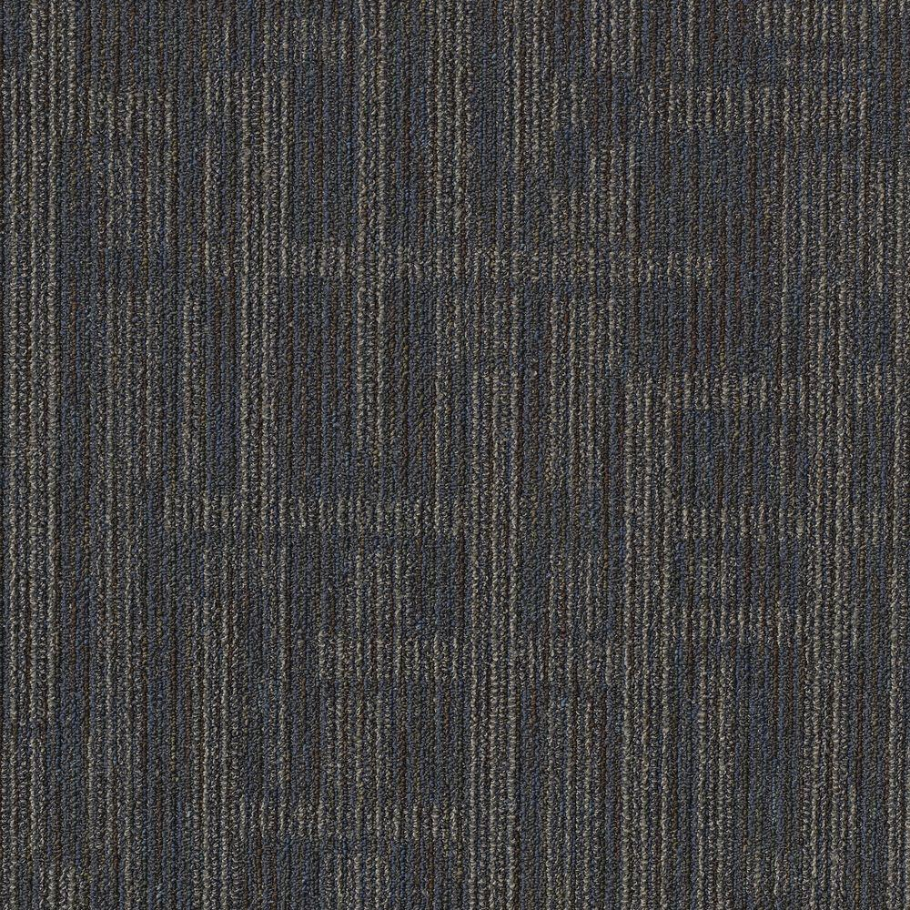 Invision Planner Blue 24 in. x 24 in. Modular Carpet Tile Kit (18 Tiles/Case)