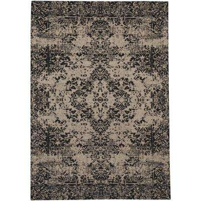 Celestial-Kirman Sand 9 ft. x 12 ft. Area Rug