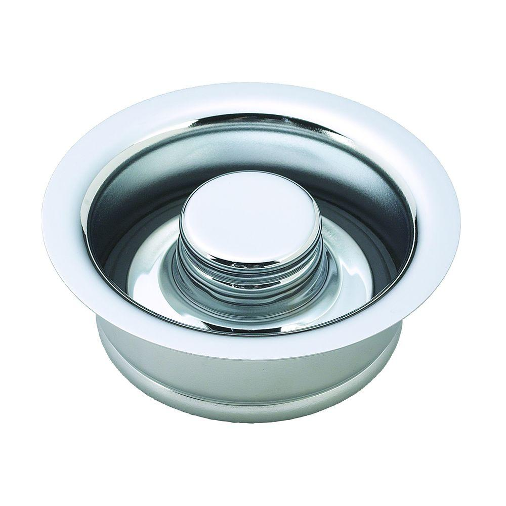 Westbrass 4-1/4 in. Disposal Ring and Metal Stopper for ISE Brand ...