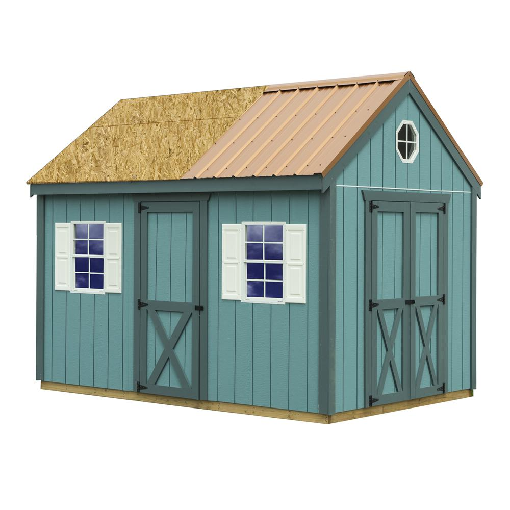 Best Barns Regency 8 ft. x 12 ft. Wood Storage Shed with Floor