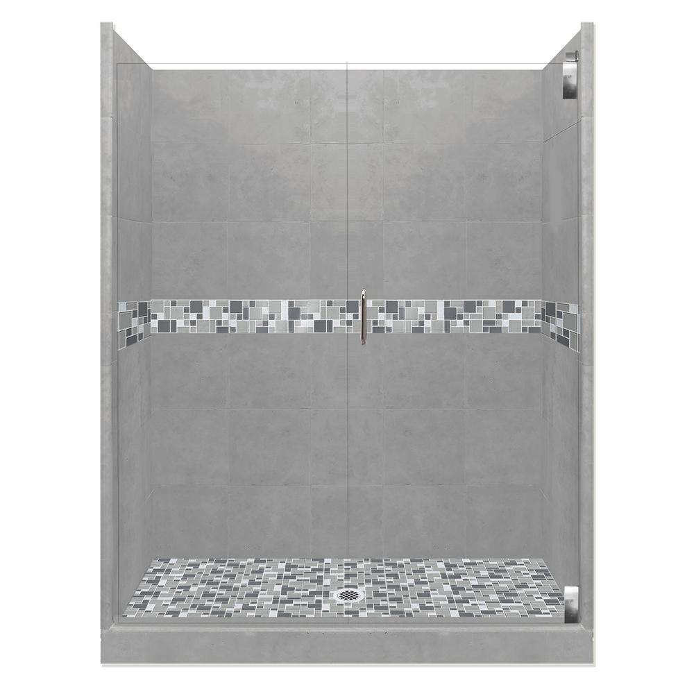 Newport Grand Hinged 32 in. x 60 in. x 80 in.