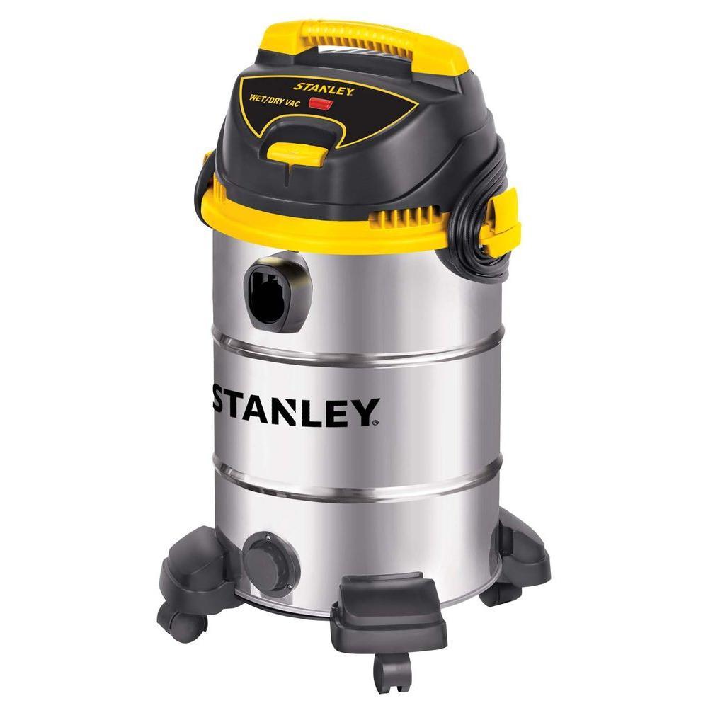 Stanley 8 Gal. Stainless Steel Wet/Dry Vacuum