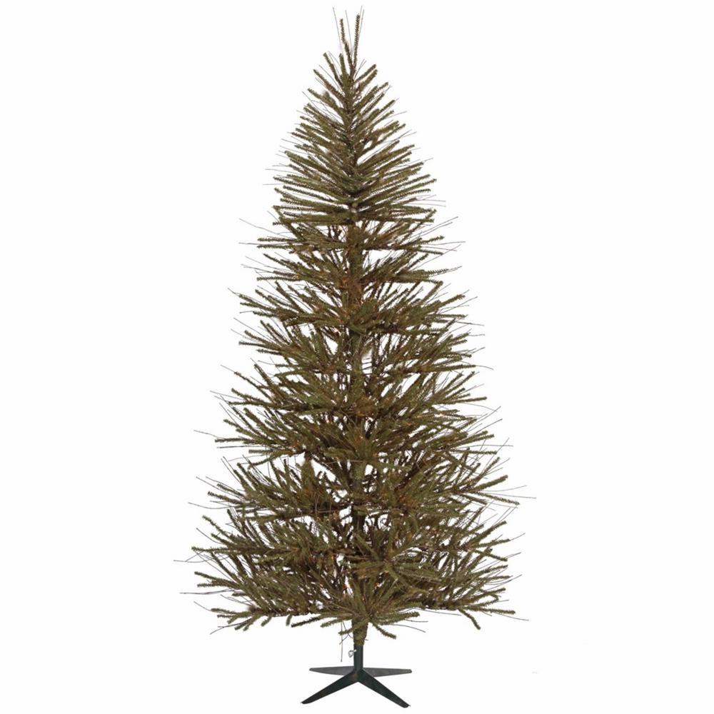 7 ft. x 46 in. Vienna Twig Medium Artificial Christmas Tree