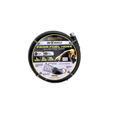 3/4 in. x 10 ft. Oil Shield Farm Fuel Hose Assembly
