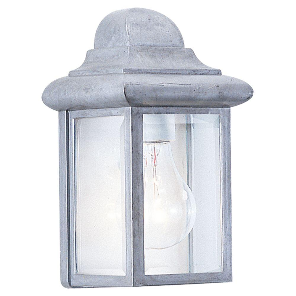 Sea Gull Lighting Mullberry Hill 1-Light Pewter Outdoor