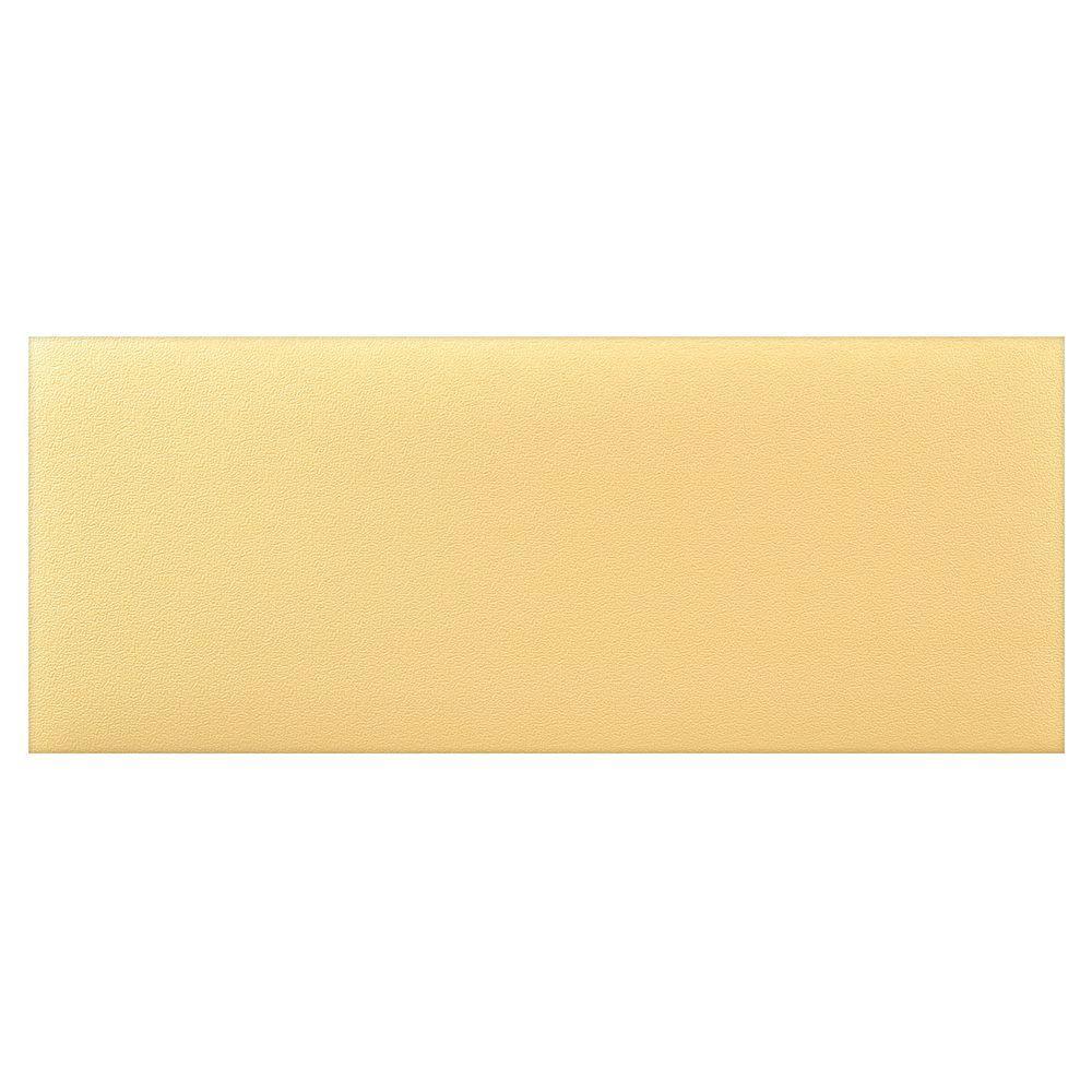 HomeTrax Designs Kitchen Comfort Yellow 1 Ft. 8 In. X 4 Ft