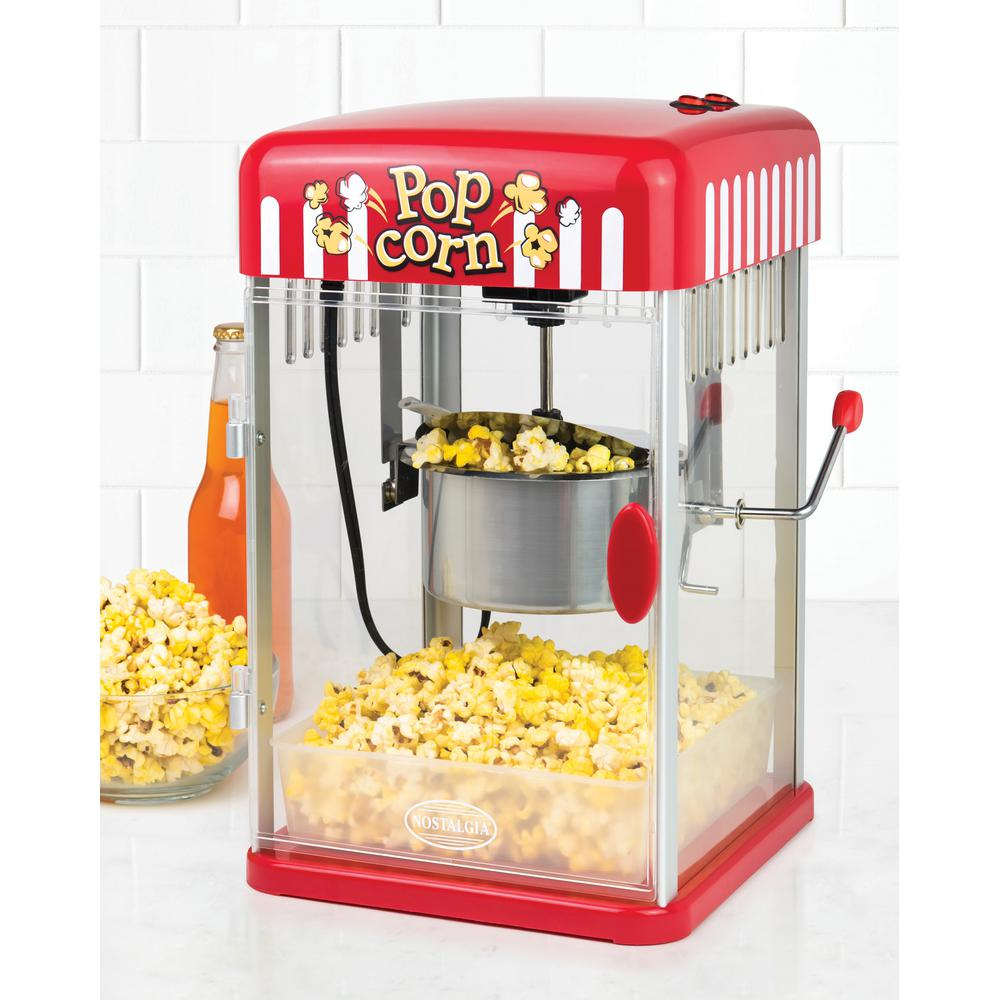 nostalgia 2 5 oz popcorn maker pkp250 the home depot. Black Bedroom Furniture Sets. Home Design Ideas
