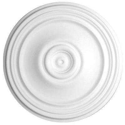 21 in. x 1-3/8 in. Plain Polyurethane Ceiling Medallion