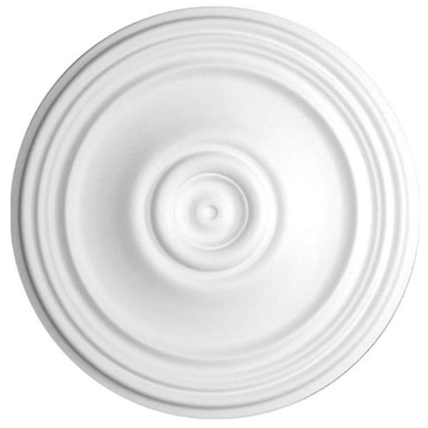 American Pro Decor 21 In X 1 3 8 In Plain Polyurethane Ceiling Medallion 5apd10223 The Home Depot