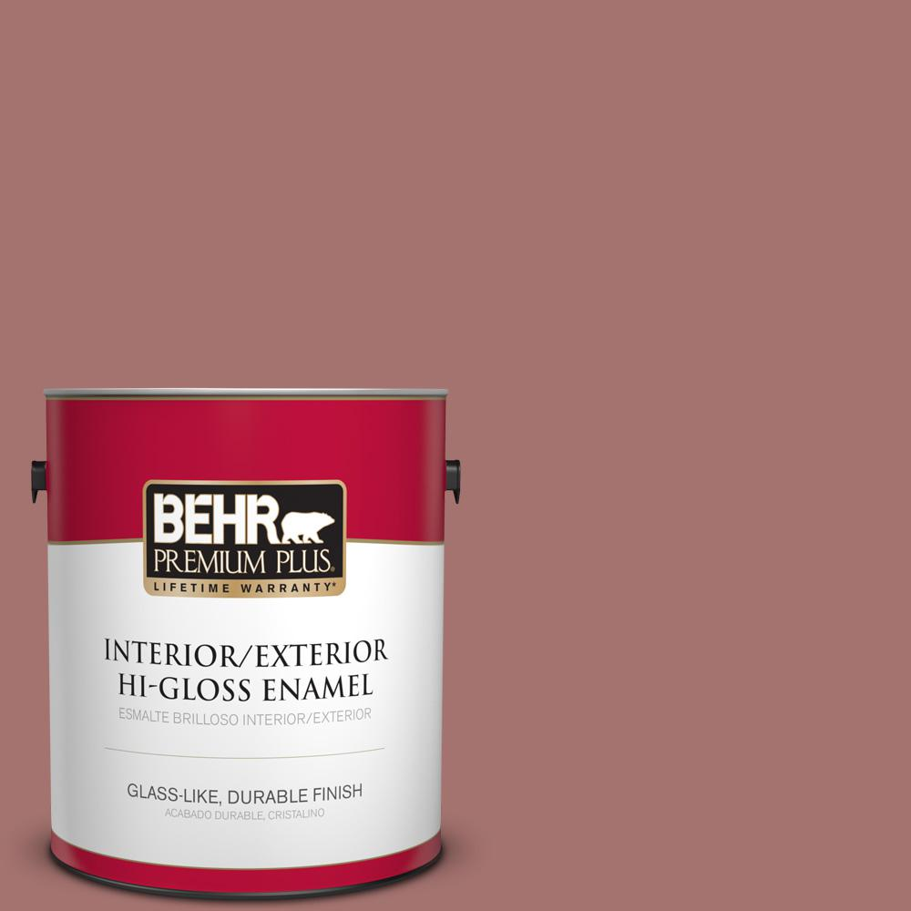 1 gal. #MQ1-17 Autumn Russet Hi-Gloss Enamel Interior/Exterior Paint