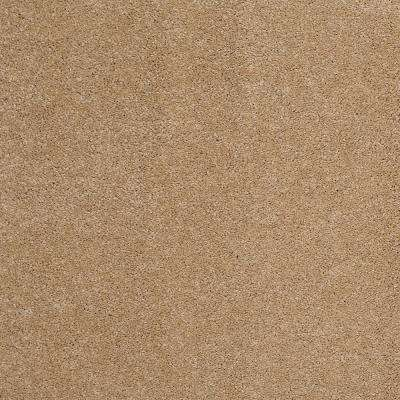 Carpet Sample - Coral Reef I - Color Gold Nugget Texture 8 in. x 8 in.