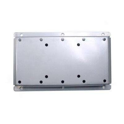 Fixed Low-Profile TV Wall Mount for LED/LCD Screens 15 in. to 40 in. and Weights up to 70 lbs. in Silver