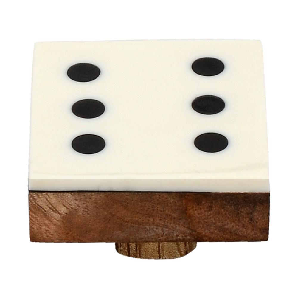 Casino 1-3/7 in. Numero 6 Cabinet Knob