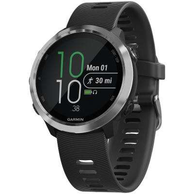 Forerunner 645 Black Running Watch with GPS and Music