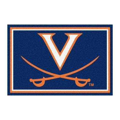 University of Virginia 5 ft. x 8 ft. Area Rug
