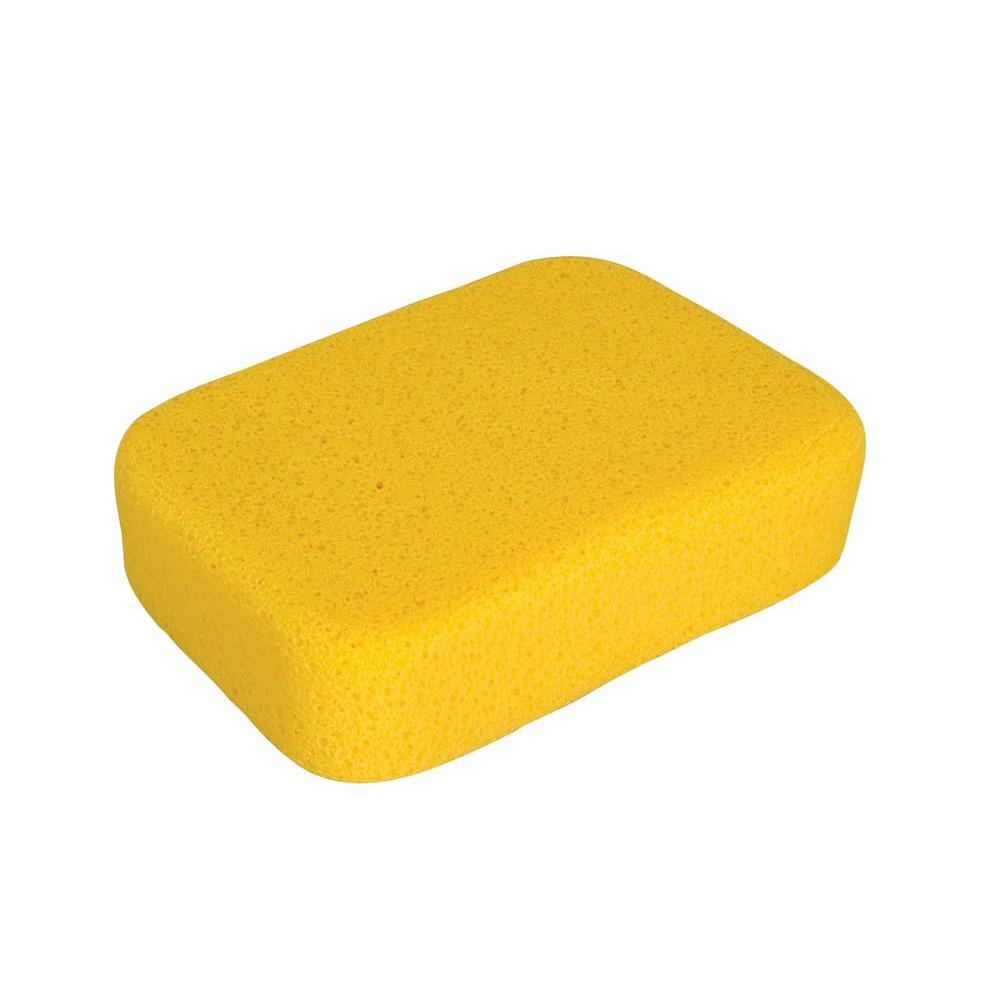 QEP 7-1/2 in. x 5-1/2 in. x 1-7/8 in. Extra-Large Grouting, Cleaning and Washing Sponge