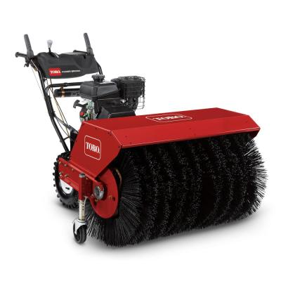 All Season 36 in. 208 cc Single-Stage Gas Power Broom