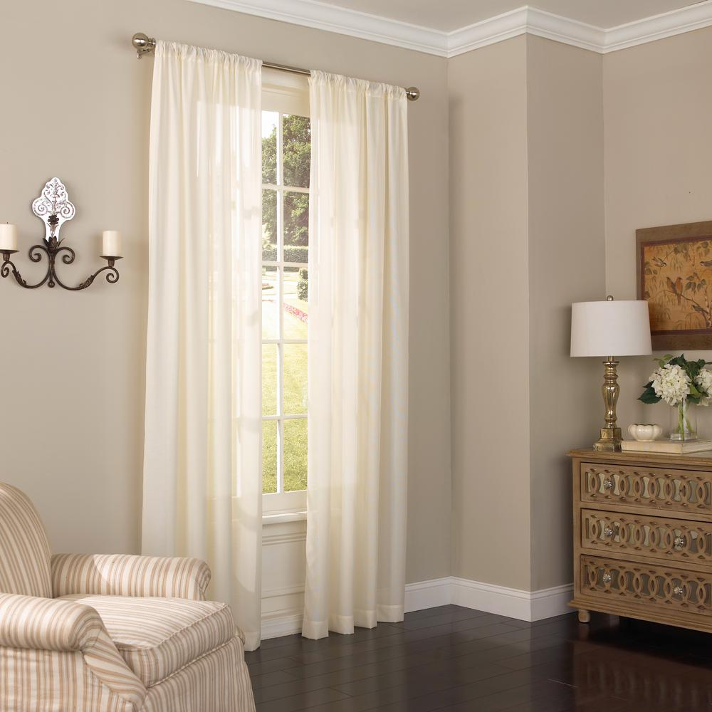 Eclipse Chelsea UV Light Filtering Polyester Sheer Window