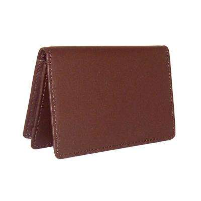 Business Card Case Wallet in Genuine Leather