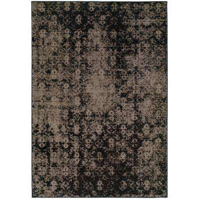 Twilight Grey 7 ft. x 10 ft. Area Rug