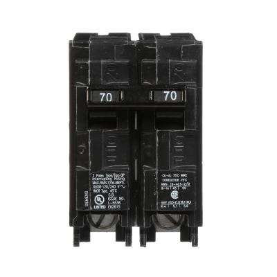 70 Amp Double-Pole Type MP Circuit Breaker
