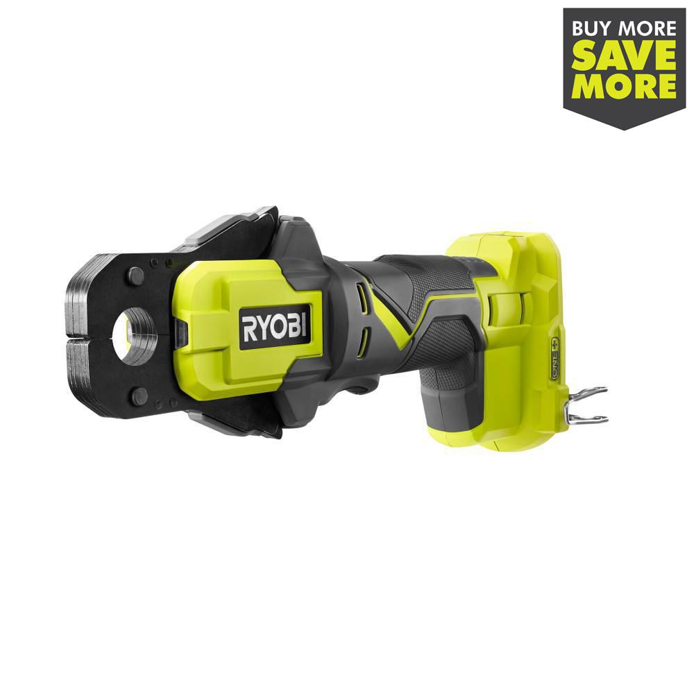 RYOBI 18-Volt ONE+ PEX Crimp Ring Press Tool (Tool Only)