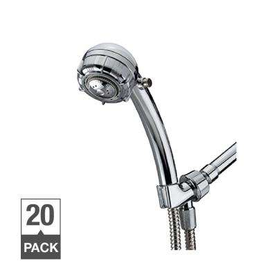 Spoiler 4-Spray Hand Shower with Pause Setting Contractor Pack of 20 in Chrome