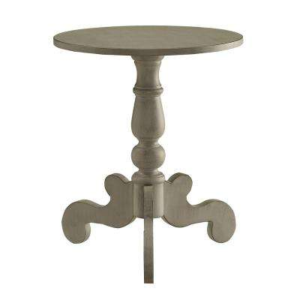 Freida Antique Slate Side Table