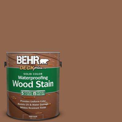 1 gal. #PPU4-1 Caramel Swirl Solid Color Waterproofing Wood Stain