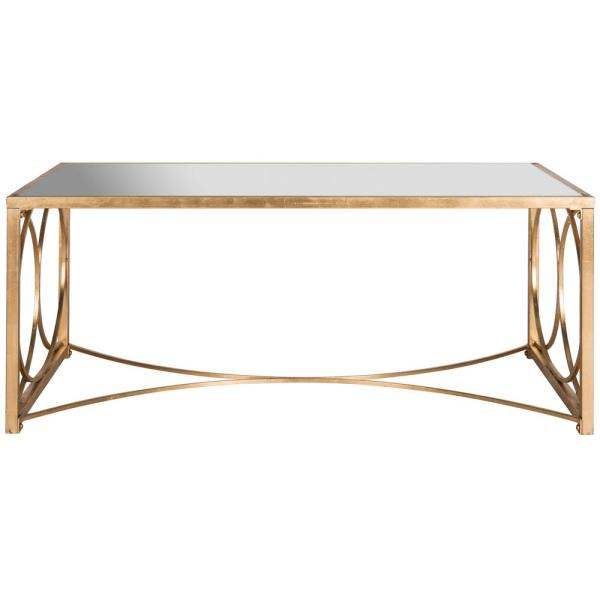 Melosa Gold Coffee Table