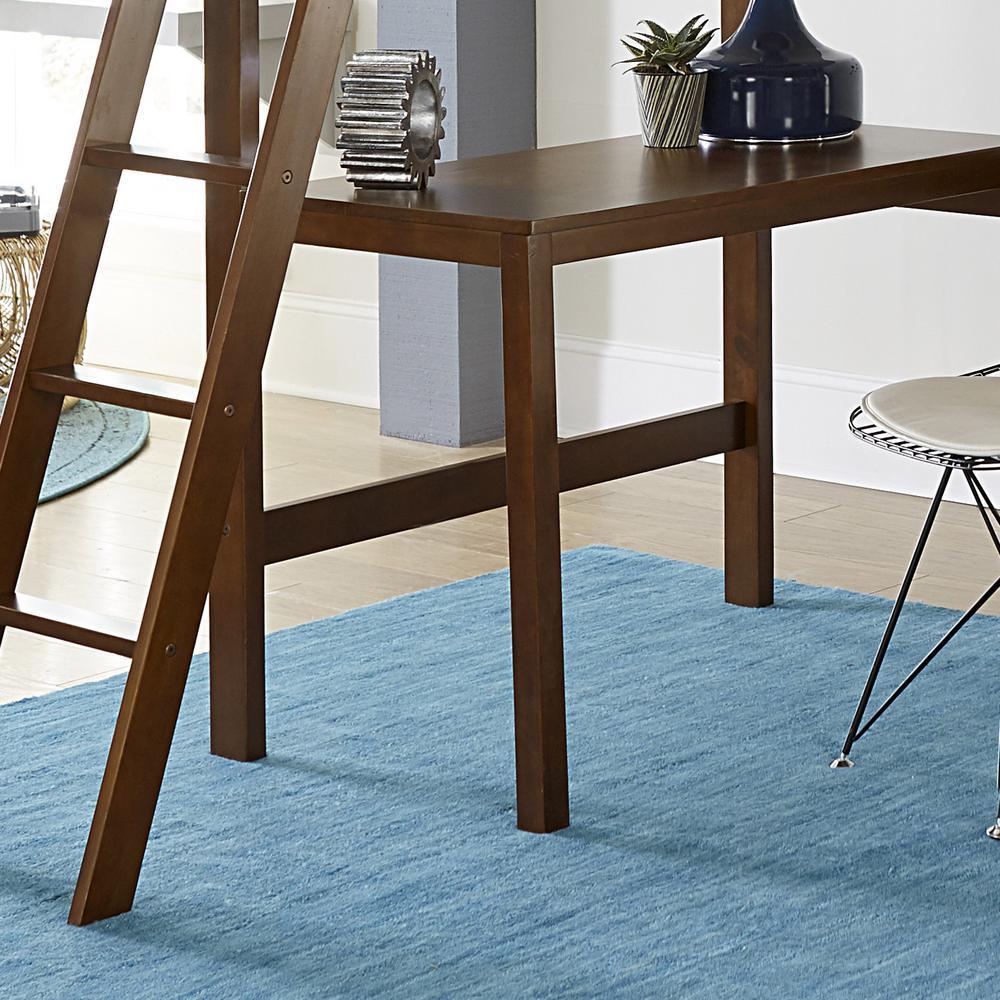 Hillsdale Furniture Caspian Walnut Twin Study Loft