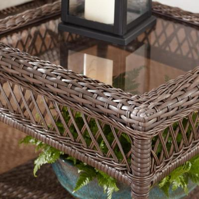 Mix and Match Wicker Outdoor Patio Side Table