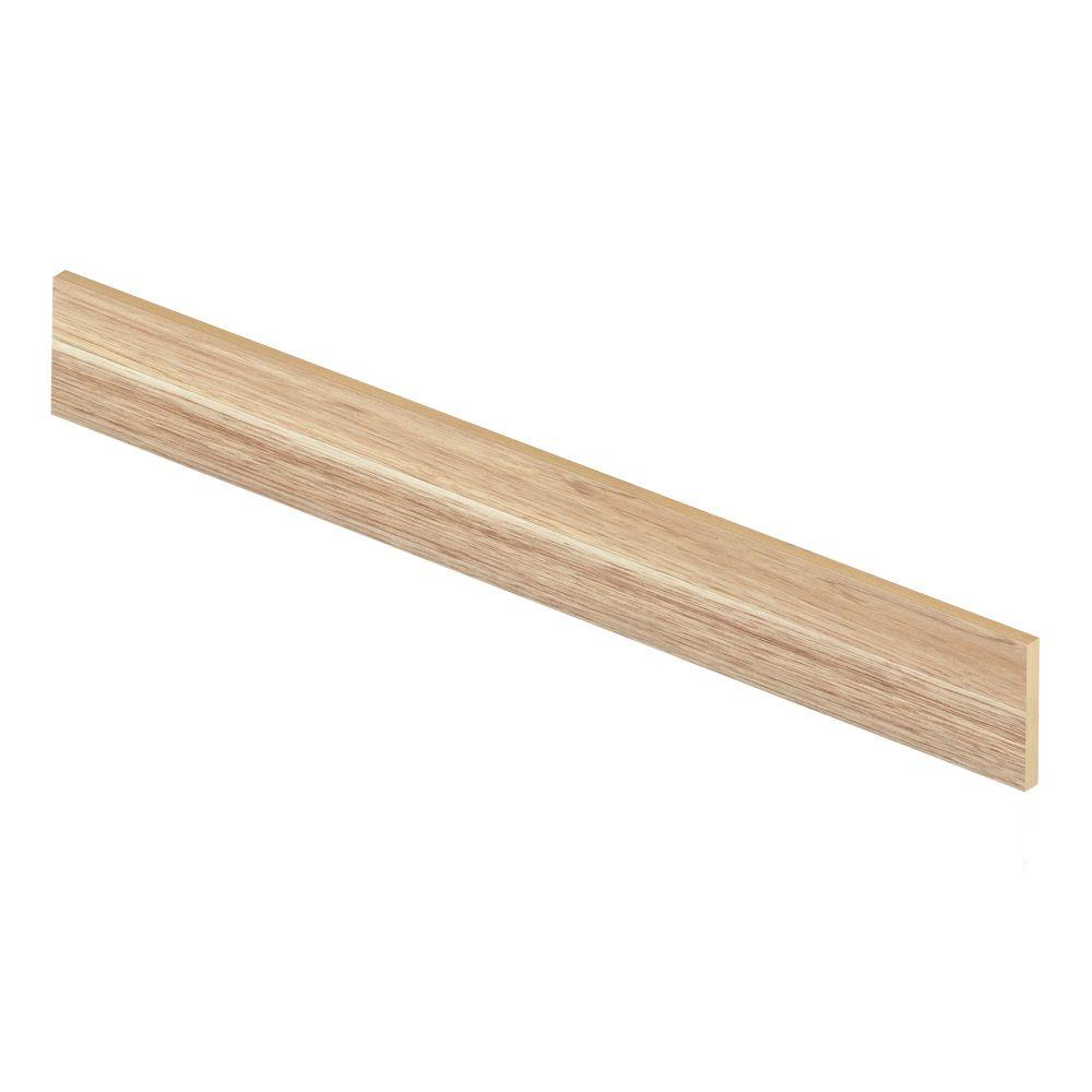 Zamma Natural Hickory 94 in. Length x 1/2 in. Deep x 7-3/8 in. Height Laminate Riser to be Used with Cap A Tread