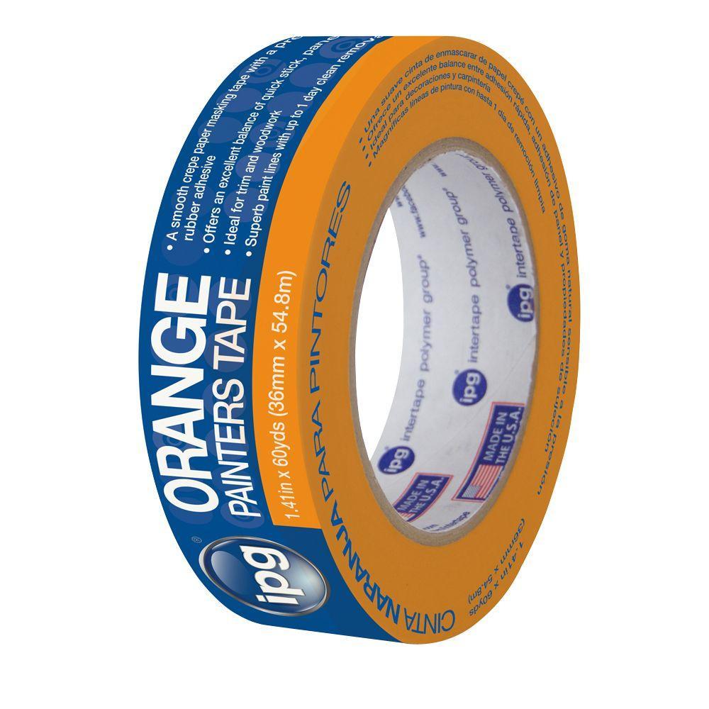 PG505 1.41 in. x 60 yds. Orange Painter's Masking Tape