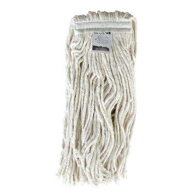 #16, 4-Ply Cotton Mop Head with Cut-Ends
