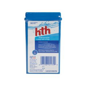 Hth multi purpose 6 way test strips 1174 the home depot - Hth swimming pool test kit instructions ...