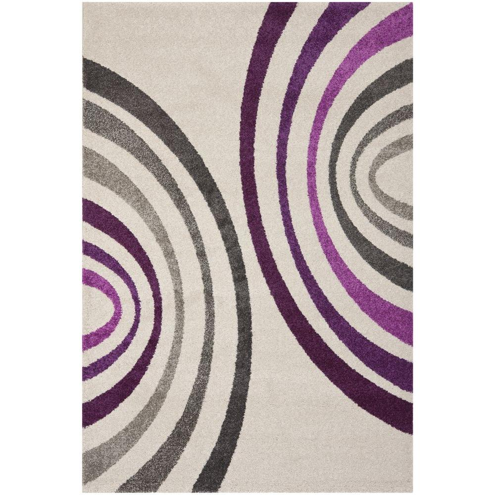 Porcello Creme 4 ft. x 5 ft. 7 in. Area Rug