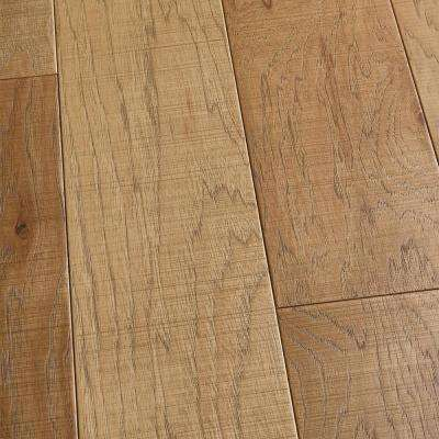 Hickory Bayside 3/8 in. T x 6 1/2 in. W x Varying L Engineered Click Hardwood Flooring (23.64 sq. ft. / case)