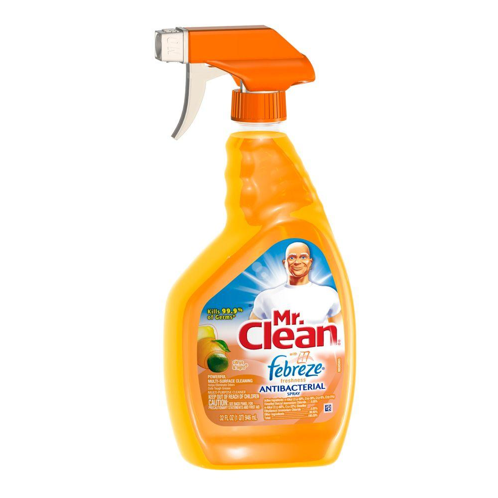 32 oz. Multi-Purpose Antibacterial Cleaner with Febreze Citrus and Light Spray