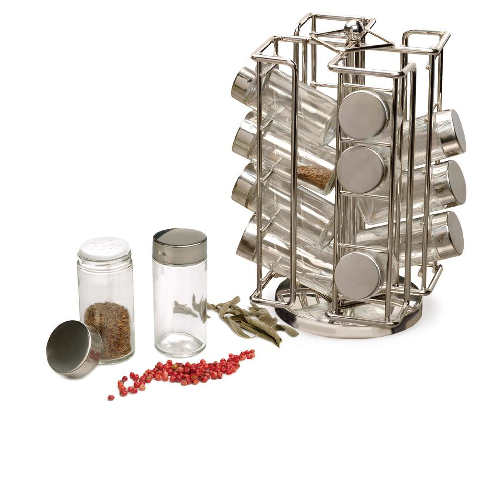 Revolving Spice Rack Set