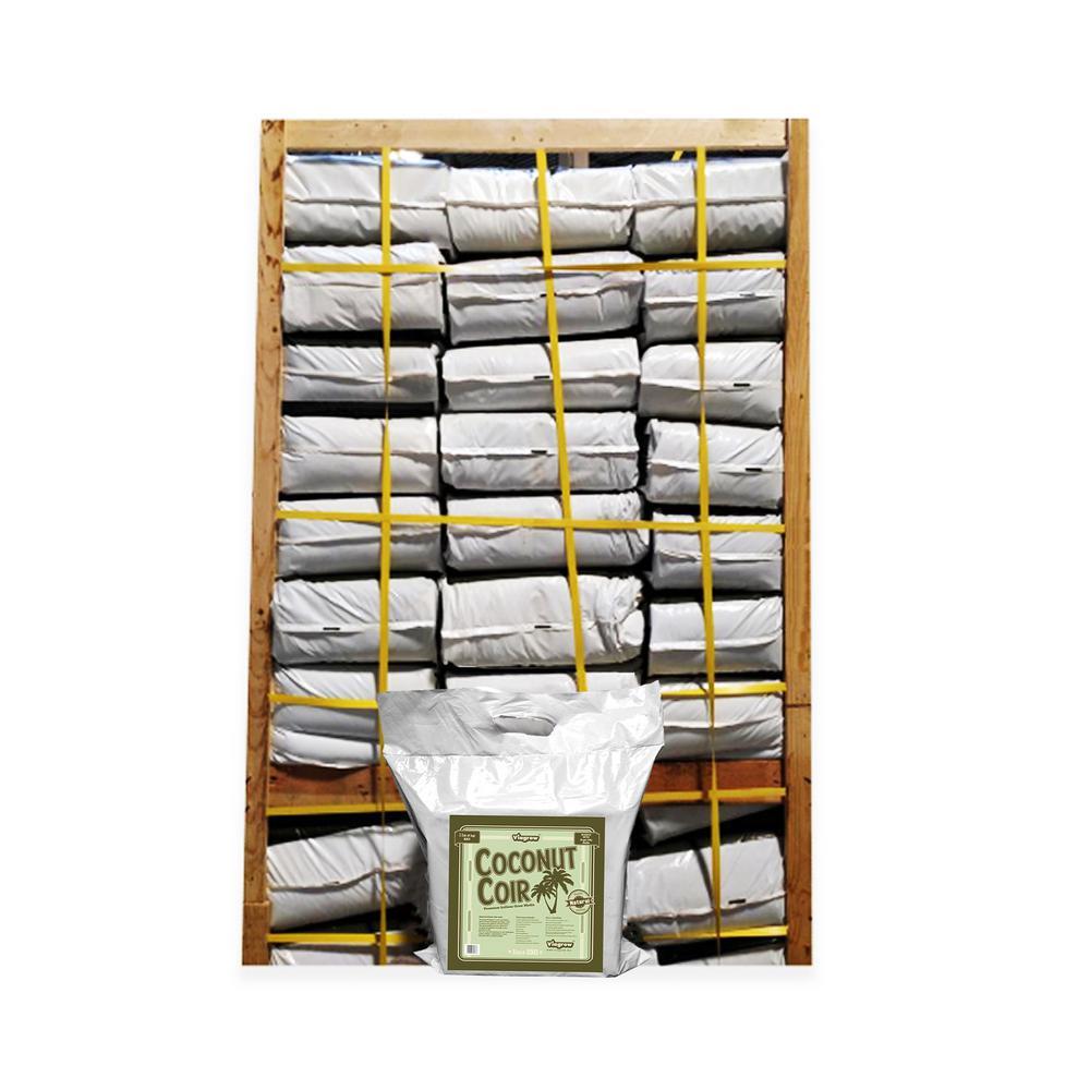 11 lb. Coconut Coir Block Soilless Grow Media (222 - 11 lbs. brick pallet)