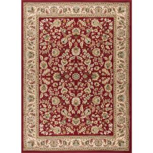 Tayse Rugs Laguna Red 8 Ft X 10 Ft Indoor Area Rug 5070