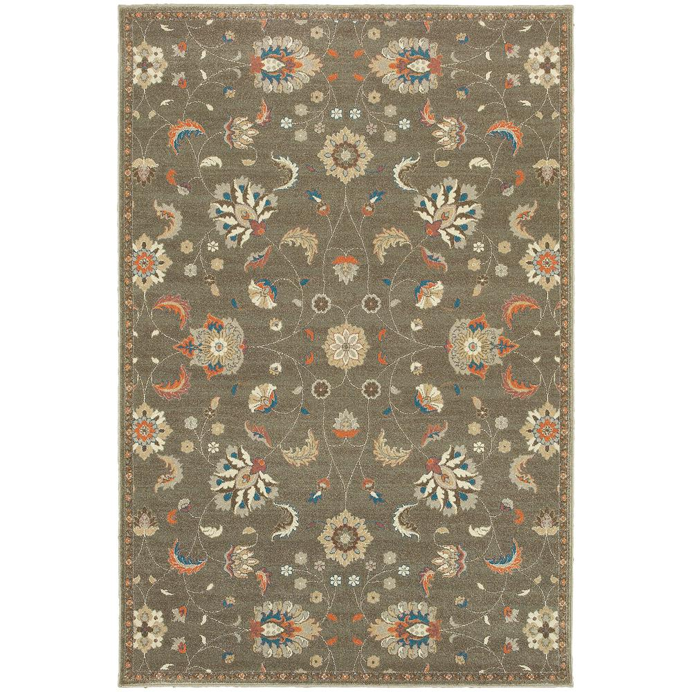 Durham Brown 5 ft. 3 in. x 7 ft. 6 in.