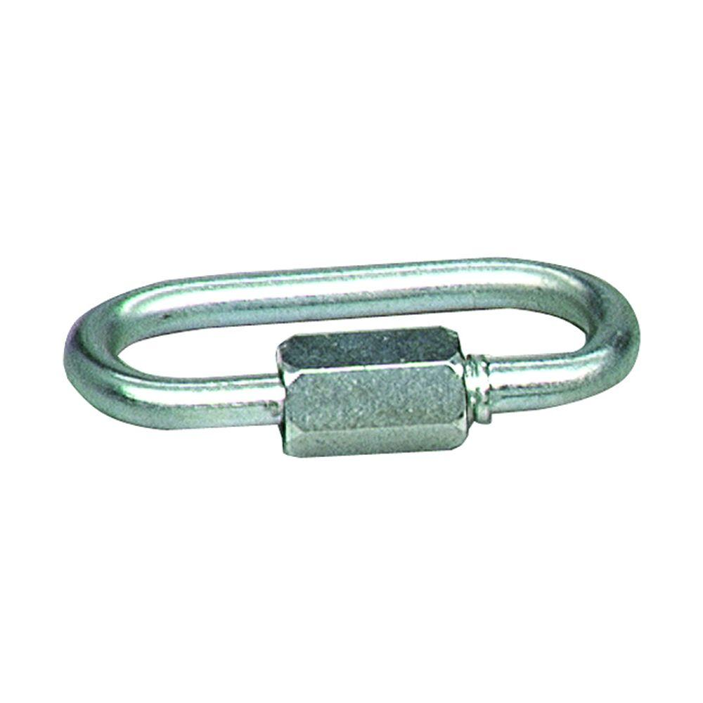 1,200 lb. 1/4 in. x 2-1/4 in. Stainless-Steel Quick Link