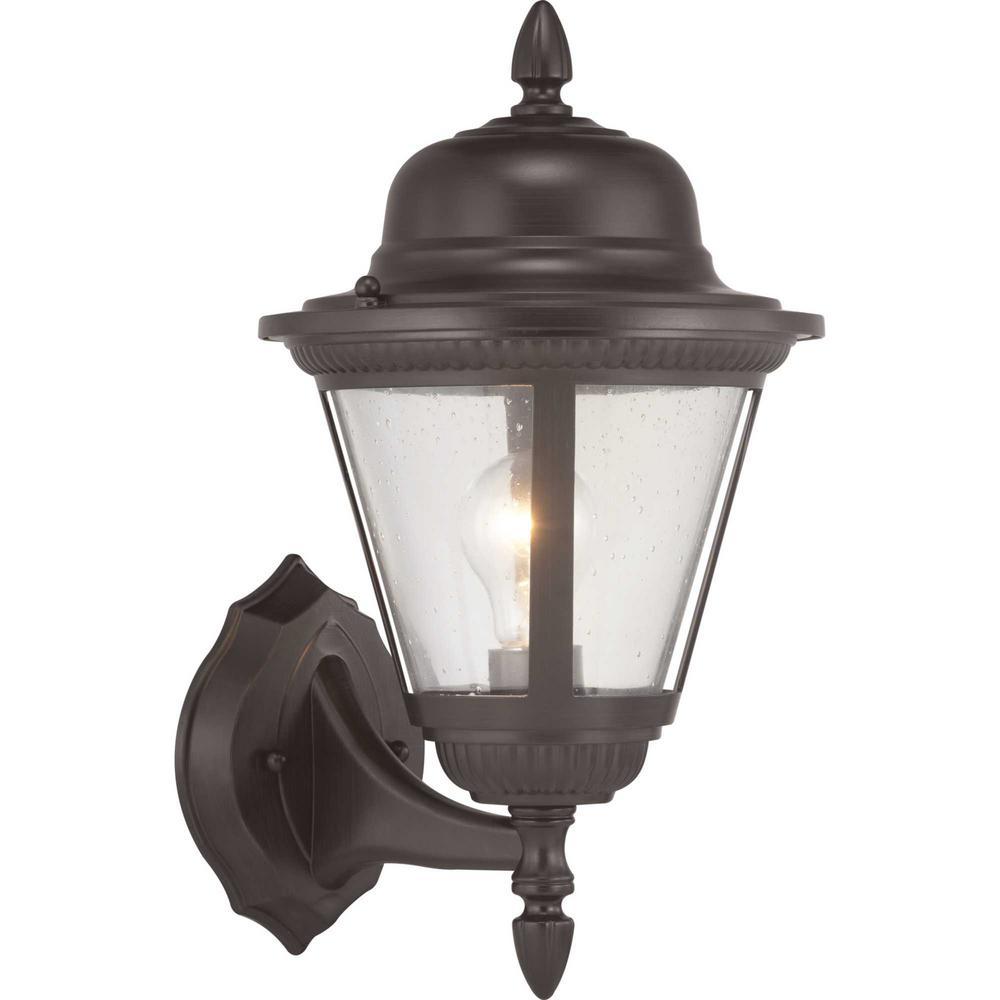 Westport Collection 1-Light Antique Bronze Wall Lantern Sconce