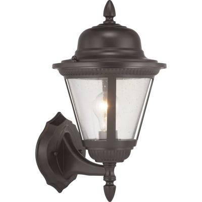Westport Collection 1-Light Antique Bronze Wall Lantern Sconce