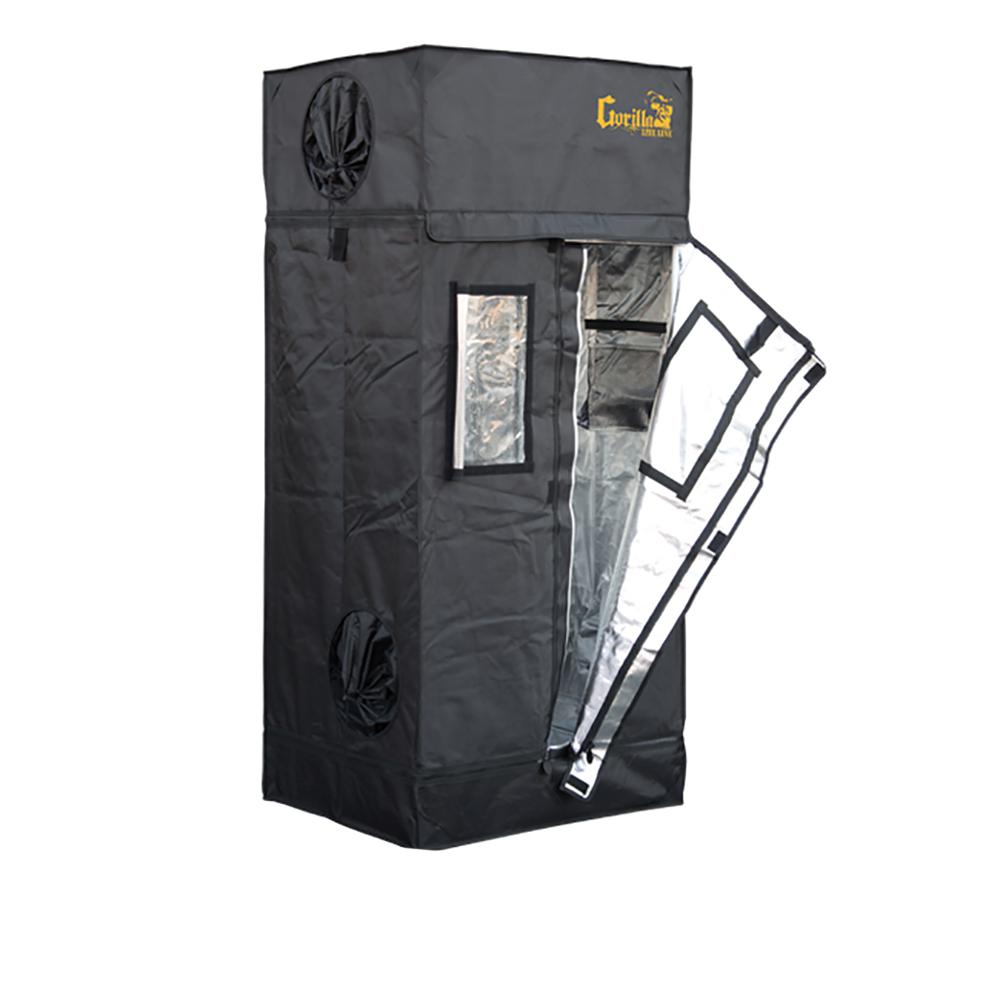 Gorilla 2 ft x 2.5 ft x 6 ft 7in Lite Line Grow Tent  sc 1 st  Home Depot : tents at home depot - memphite.com